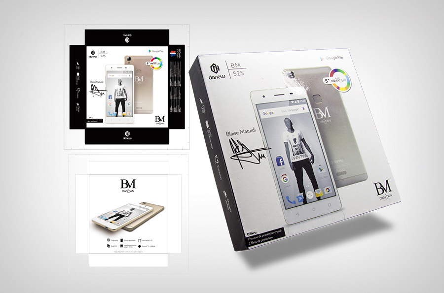 Packaging Smartphone BM525