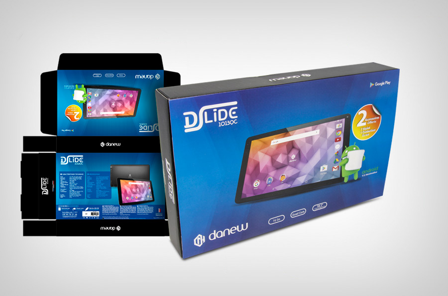 Packaging Tablette Dslide 1013QC
