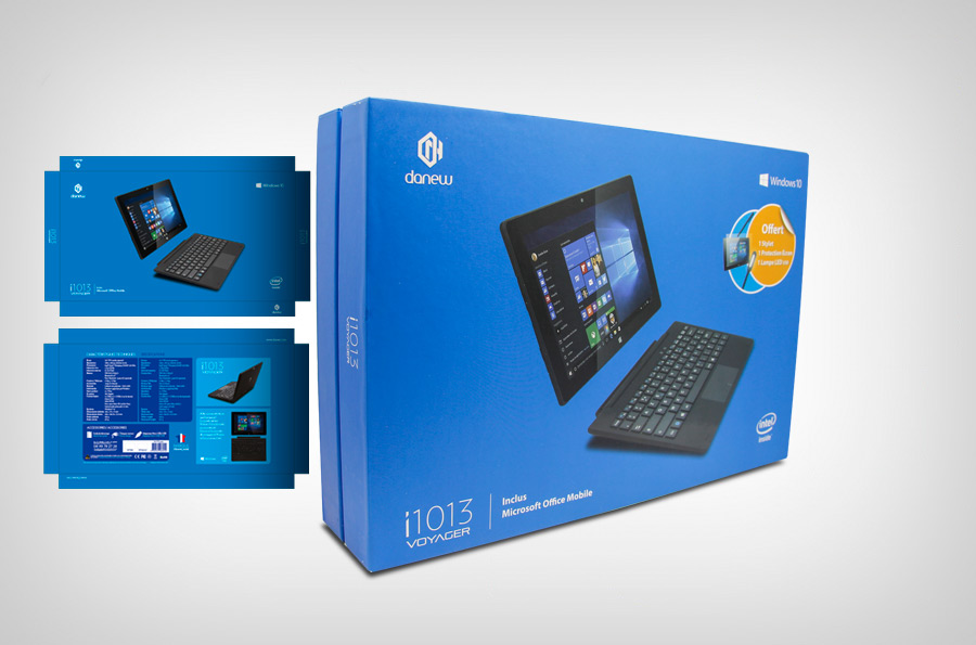 Packaging Tablette PC i1013